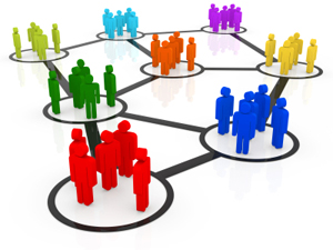 People in Circles -- Network Representative Image